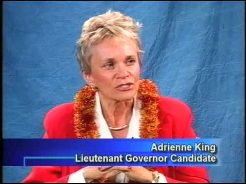 GOP Lt Governor Candidates Lynn Finnegan and Adrienne King debate Hawaii politics. Part 2