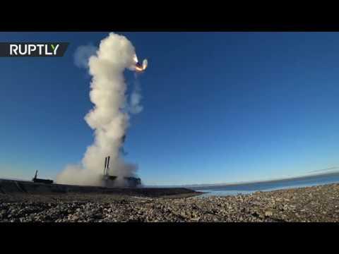 الأسطول الروسي يستخدم صواريخ باستيون لأول مرة في تدريبات تكتيكية