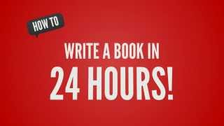 Write a book in 24 hours - I
