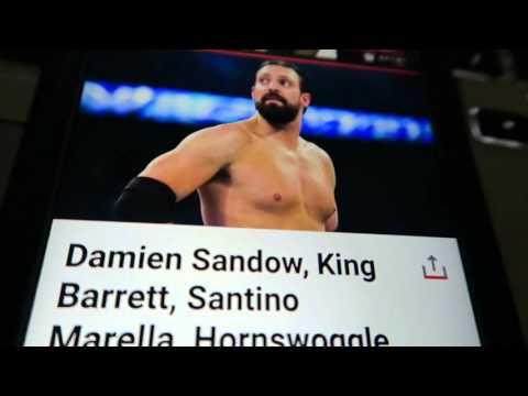 WWE Release  5/6/16 Damian Sandow