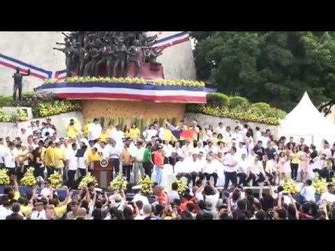"Edsa People Power's ""Salubungan"" reenactment"