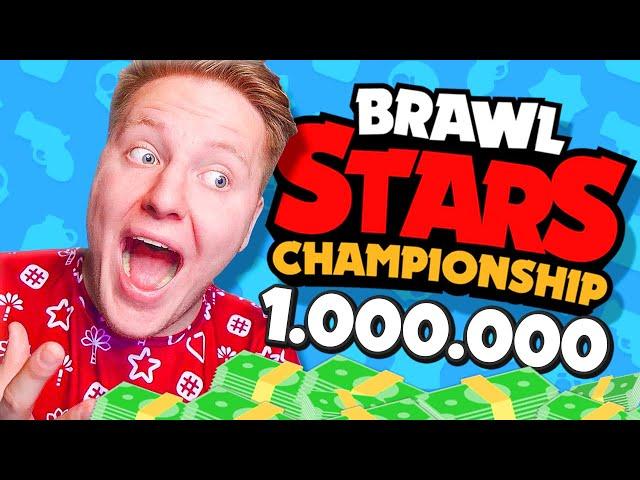 Я ПОЛУЧУ 1.000.000 $$$ ?! ЧЕМПИОНАТ В BRAWL STARS