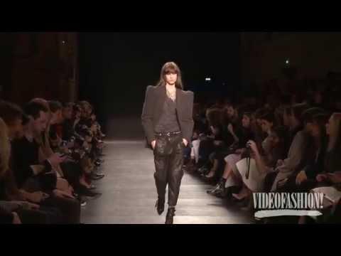 Isabel Marant Fall 2014 Paris Fashion Week Interviews & runway   Videofashion