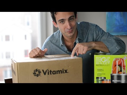 Nutribullet vs Vitamix S30: Say WHAT?
