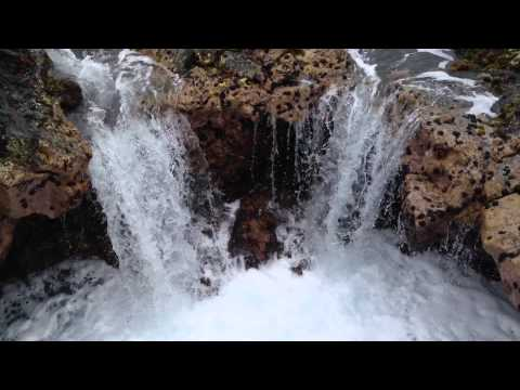 One Minute in Paradise: Kona Waterfall