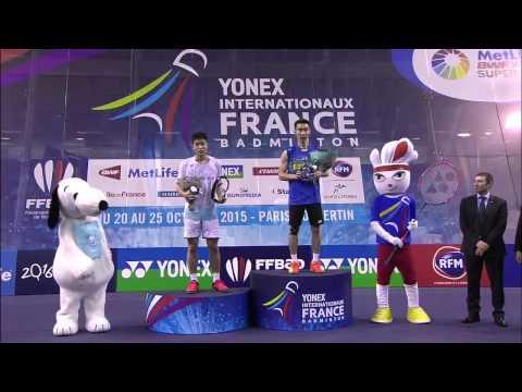Yonex French Open 2015 | Badminton F M1 to M5