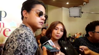 Live Interviews with #KathNiel Daniel Padilla & Kathryn Bernardo #CHFIL2ndPresscon