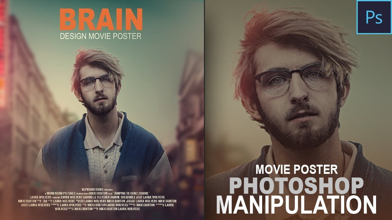 Create movie poster in photoshop