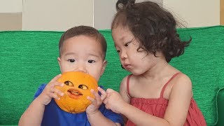 오렌지가 살아 있어요! 주방놀이 장난감 놀이 Kids Pretend play What if Orange is alive? | MariAndKids