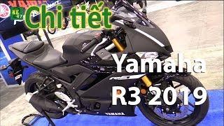 [247xe] Yamaha R3 2019 mới cải tiến từ động cơ đến kiểu dáng