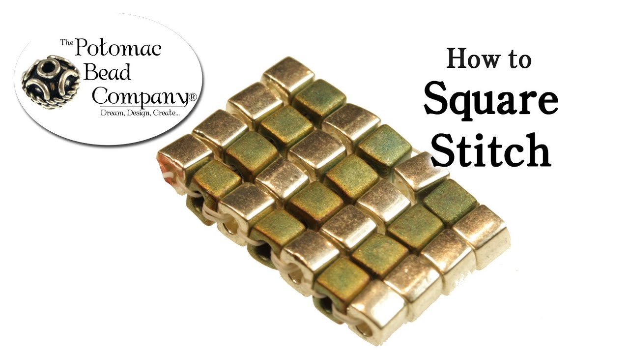 How to Square Stitch