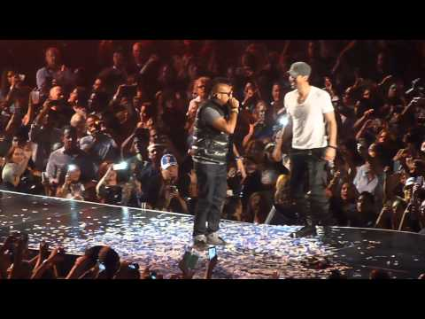 Enrique Iglesias ft Sean Paul- Bailando- Prudential Center 9.12.14
