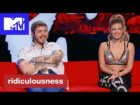 'Post Malone a.k.a. Leon DeChino' Official Clip | Ridiculousness | MTV #1