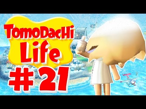 Tomodachi Life - Get Yo Weave Did!! - Part 21