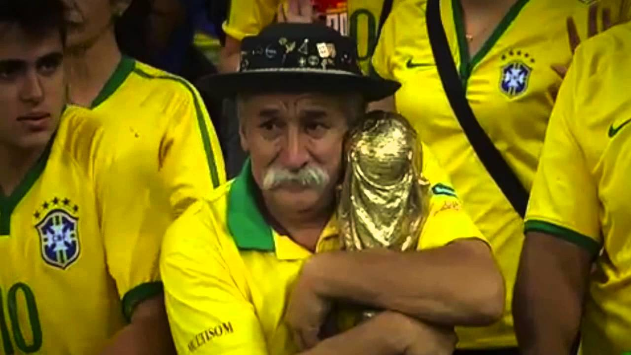 Brazilian soccer crowd