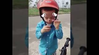 Xe trượt scooter tay cầm cho bé