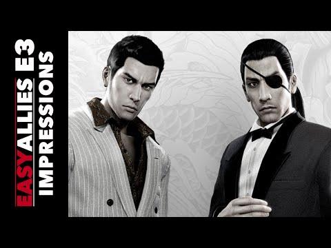 Yakuza 0 - E3 2016 Impressions
