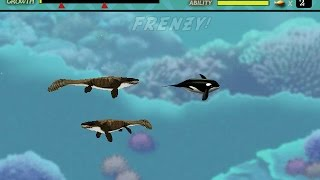 Feeding Frenzy custom level : Dinosaur sea 1.92 MB