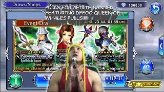 Dissidia Final Fantasy: Opera Omnia PULLS FOR AERITH!! FEAUTURING THE QUEEN OF WHALES!!