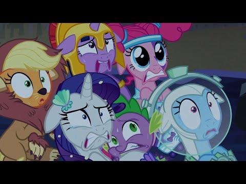 The Mane 6 Enter The Corn Maze Of TERROR - My Little Pony: Friendship Is Magic - Season 5