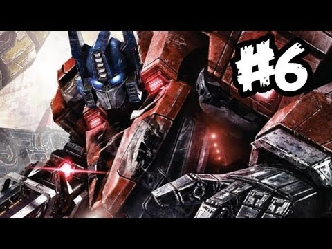 Transformers Fall of Cybertron - Gameplay Walkthrough - Part 6 - MEGATRON!! (Xbox 360/PS3/PC)