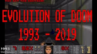 Evolution of DOOM 1993 - 2019