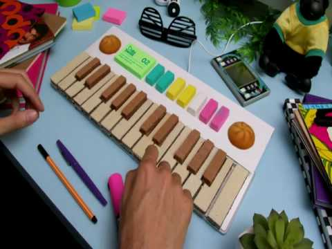 Stop motion 100 fruit Tic Tic Tac Wafer s Keyboard