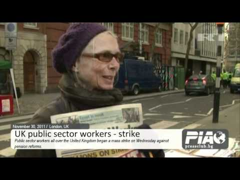 UK - public sector workers - strike