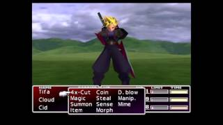 Final Fantasy VII: Master Summon and Cloud's Omnislash
