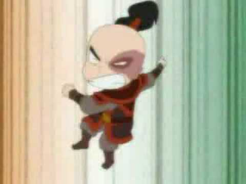Avatar Chibi - Bending Battle.flv