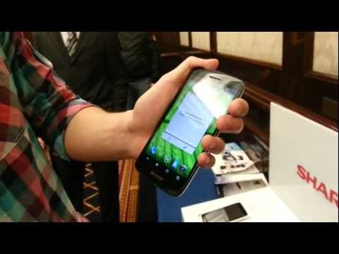  SHARP  Aquos Phone  Full HD  [First-look]