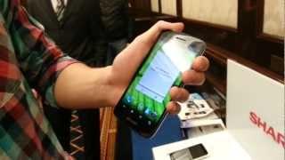 Линейка смартфонов SHARP и Aquos Phone с Full HD экраном [First-look]