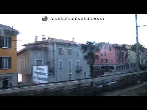 HALLUCINANT Train TRIP @ LAGO di COMO: Provincia di LECCO LOMBARDIA, ITALIA