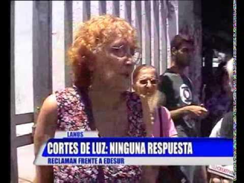 CORTES DE LUZ- EDESUR LANUS