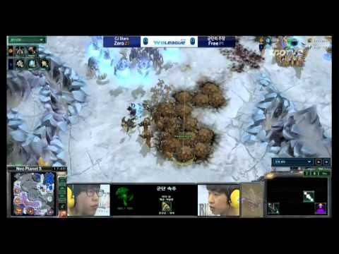 SPL [03.30] Zero(CJstars) vs Free(Captain) 1SET / 네오플래닛S- Starcraft 2,esportst
