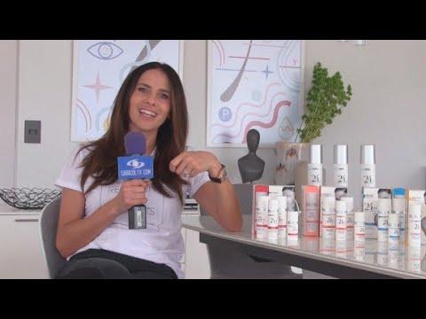 Paola Turbay expuesta: así presenta su nueva línea de dermocosmética