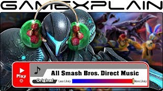 The Unrevealed Music of the Smash Bros. Ultimate Direct! We Identify EVERY Track!