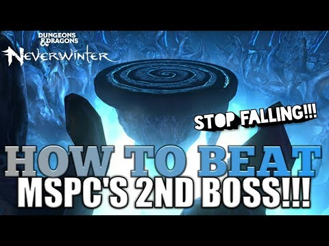 NEVERWINTER HOW TO BEAT MSPC'S 2ND BOSS! MSPC GUIDE!GF GAMEPLAY! PS4