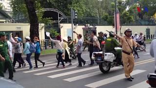 Biểu tình chống dự luật Đặc khu tại Sài gòn (VOA)