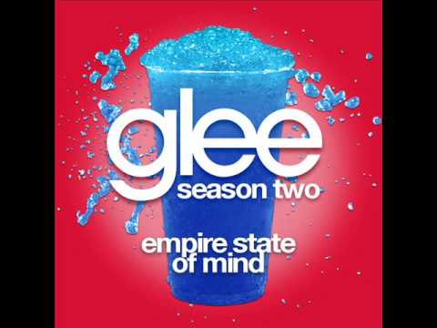 Glee - Empire State Of Mind [lyrics] video