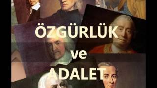 ÖZGÜRLÜK ve ADALET-Bölüm 1- SORULAR (Prof.Dr. Doğan GÖÇMEN)