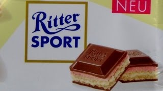 Strawberry+Vanilla+Waffle Chocolate [Ritter Sport Summer 2013]