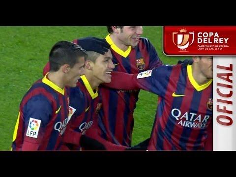 Todos los goles del FC Barcelona (5-1) Levante UD - HD Copa del Rey