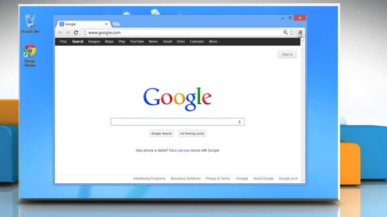 How to change google chrome home page in windows 8 youtube for Windows home page