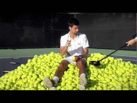 HEAD Gold Rush with Maria Sharapova and Novak Djokovic