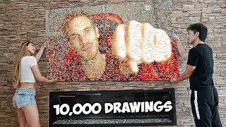 Pewdiepie Drawings That Are On Another Level