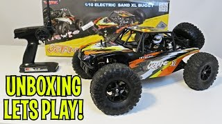 Unboxing & Let's Play - VRX Racing 1/10 Brushless Desert Truggy RC Car