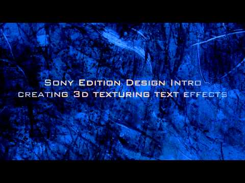 Sony Vegas Pro  | Textured Text and Shadows - Texture YouTube