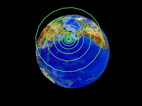 6/23/2014 -- 8.0M Earthquake and Tsunami strike Alaska -- Aleutian Islands Pacific Warning