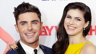 Download Lagu Zac Efron CONFIRMS Alexandra Daddario Relationship With RISQUE Instagram Comments? Gratis STAFABAND